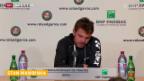 Video «Tennis: Stan Wawrinka nach dem Erstrunden-Out» abspielen