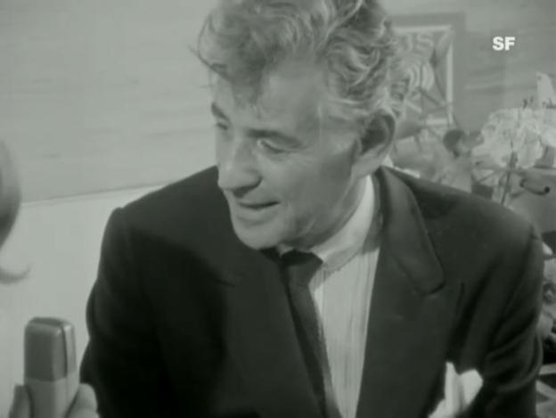 Video «Leonard Bernstein und Heidi Abel» abspielen