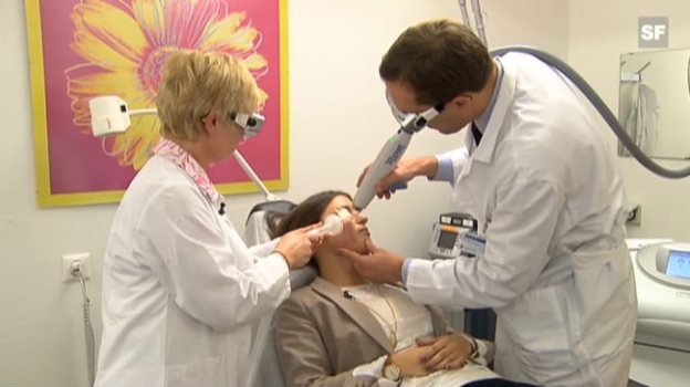 Video «Mit dem Laser gegen Akne-Narben» abspielen