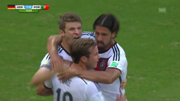Video «Deutschland-Portugal: Die Highlights» abspielen