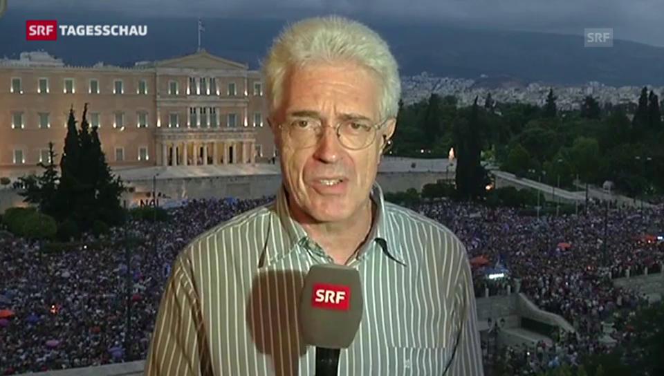 Werner van Gent zur Taktik von Tsipras