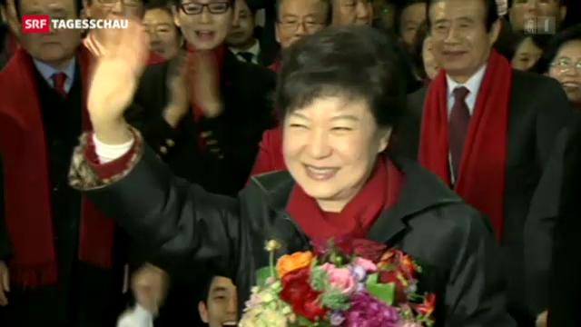 Südkorea wählt erstmals eine Frau an die Staatsspitze.