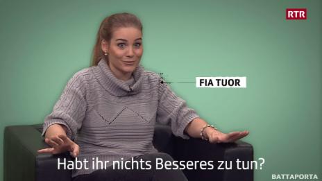 Laschar ir video «Jau hai fatg nagut nausch!»