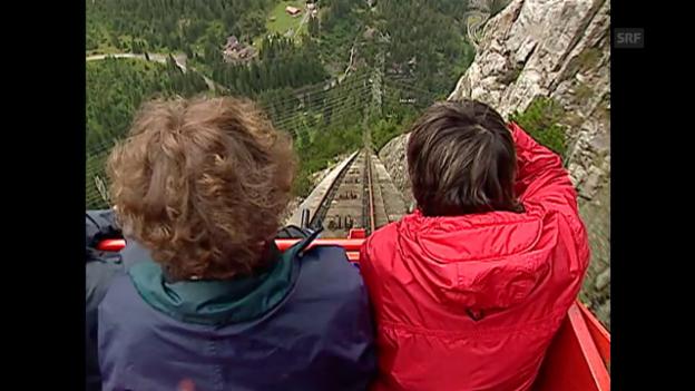 Video «2001: Eröffnung der Gelmerbahn» abspielen