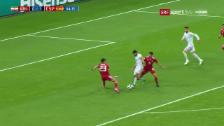 Link öffnet eine Lightbox. Video Costas glückliches «Flipper-Goal» gegen Iran abspielen