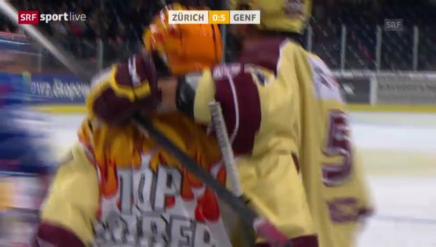 Video «Eishockey: Lombardis letzter Treffer für Genf» abspielen