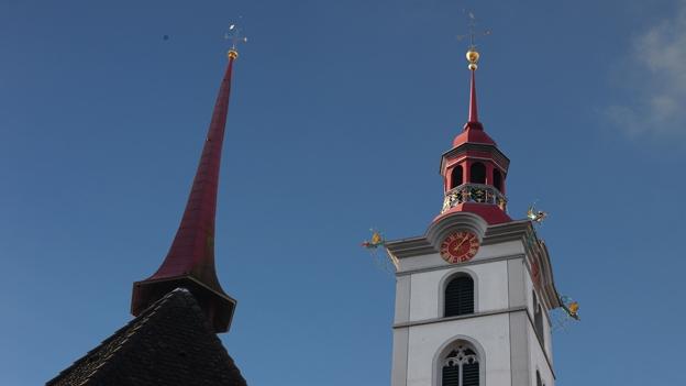 Glockengeläut der Kirche St. Georg, Sursee