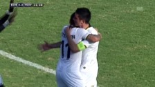 Video «Fussball: Europa League, Aradippou-YB, Highlights» abspielen
