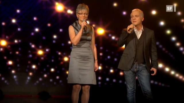 Starduett: Brigitta singt mit Nino de Angelo