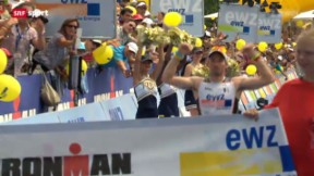Video «Triathlon: Ironman Switzerland» abspielen