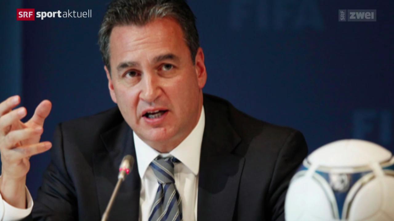 Fussball: FIFA-Sonderermittler Garcia tritt zurück