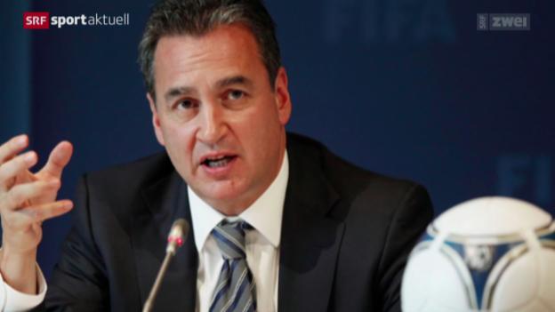 Video «Fussball: FIFA-Sonderermittler Garcia tritt zurück» abspielen
