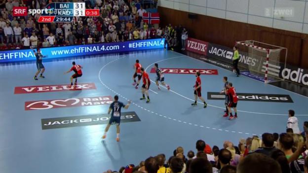 Video «Handball: CL, Baia Mare - Kadetten Schaffhausen» abspielen