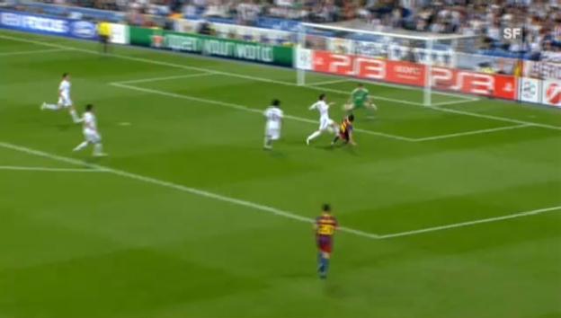 Video «Die Messi-Show gegen Real Madrid» abspielen