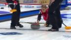 Video «Beide Curling-Equipen feiern einen weiteren Sieg» abspielen