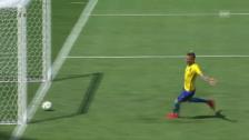 Video «Die 6 Tore: Brasilien demontiert Honduras» abspielen