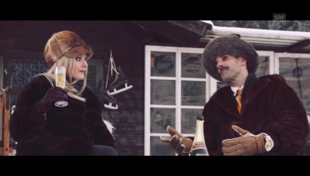 Video «Chic im Schnee: Ausländer» abspielen