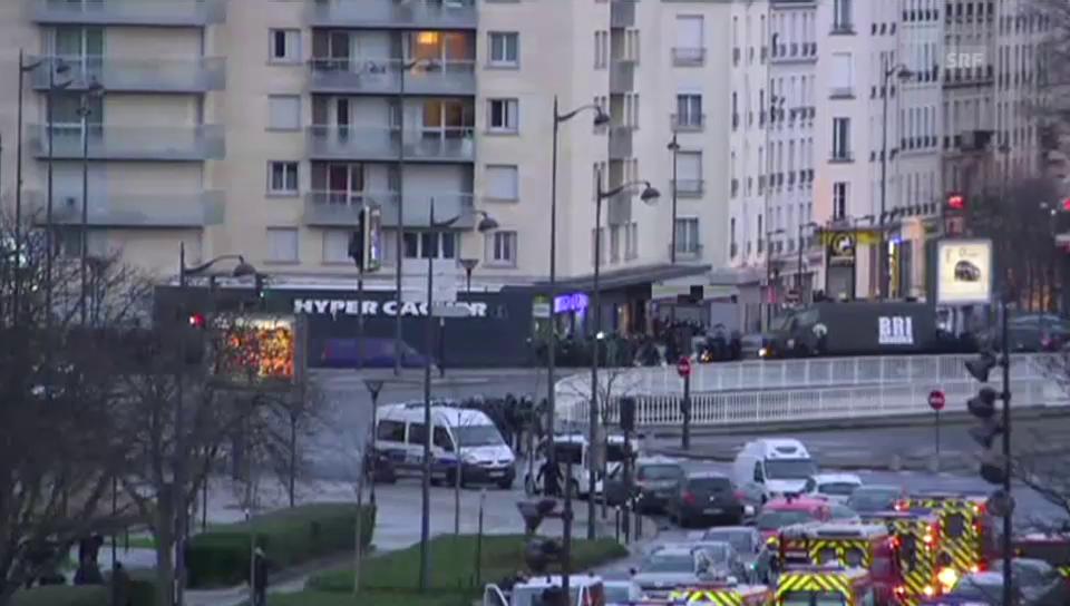 Stürmung bei der Porte Vincennes