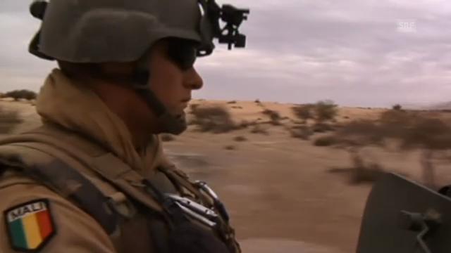 Französische Soldaten unterwegs nach Timbuktu