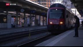 Video «FOKUS: Die SBB macht sich fit für die Zukunft und spart massiv» abspielen