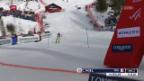 Video «Erster Slalom-Sieg von Noel in Wengen» abspielen