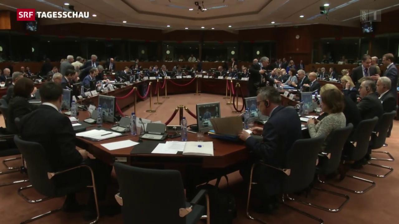 EU-Minister beraten über Flüchtlingskrise