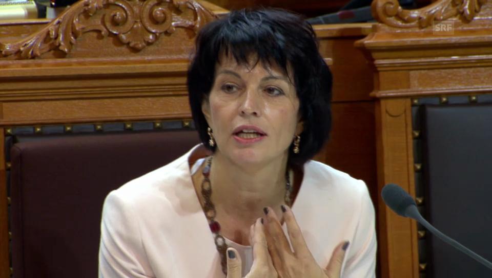 Die Umweltministerin will Massnahmen ergreifen