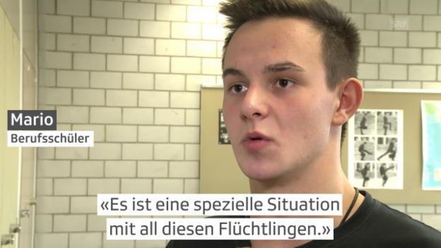Video «Politik der Zuwanderung – 17-Jährige reden Klartext» abspielen