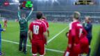 Video «Fussball: Nati-Testspiel gegen die Slowakei» abspielen