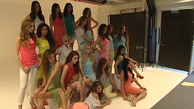 18 Kandidatinnen in Miss-Schweiz-Schule