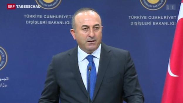 Video «Türkei hadert mit Unterstützung der Kurden» abspielen