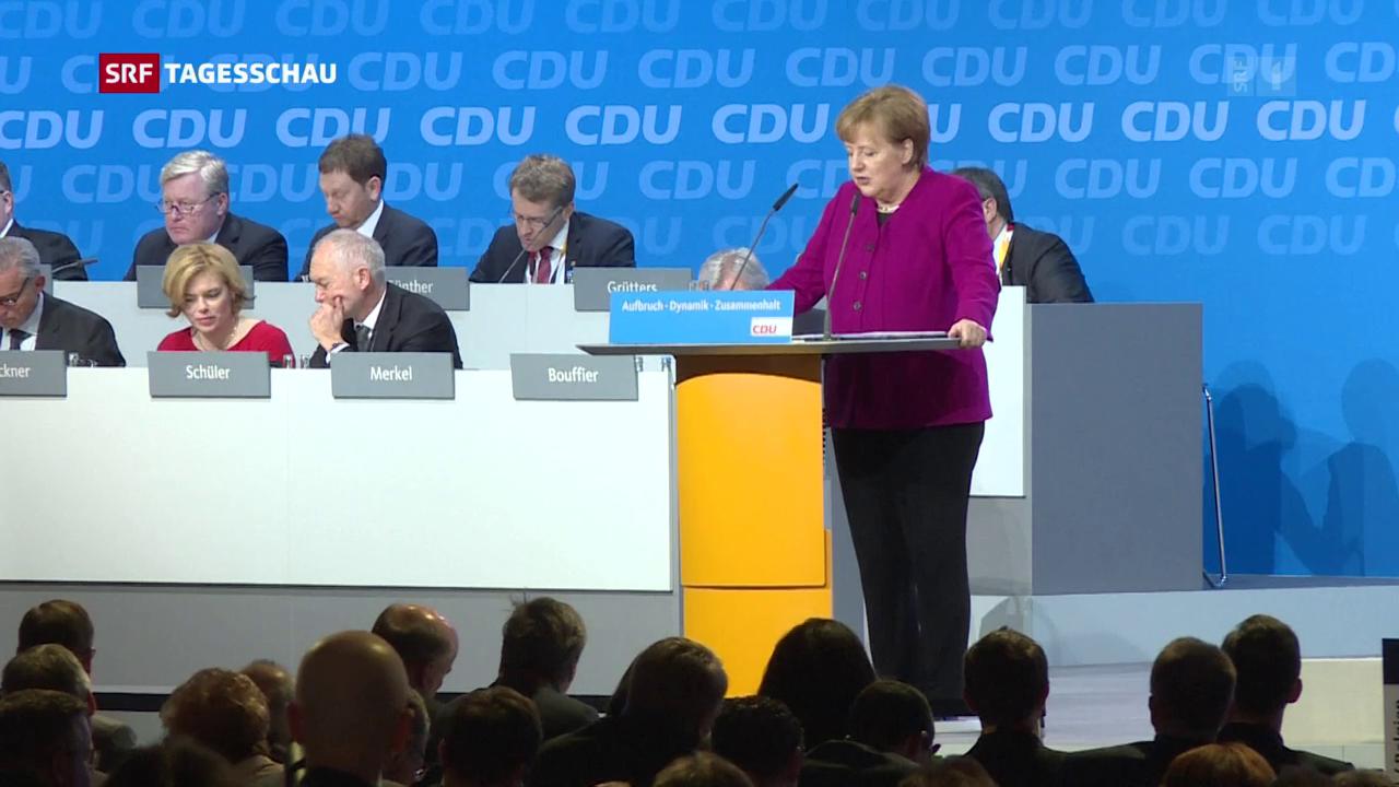 CDU sagt Ja zur grossen Koalition