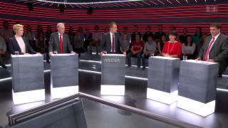 Video «Abstimmungs-Arena: Änderung Radio - und Fernsehgesetz» abspielen