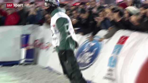 Video «Snowboard: Big-Air-Weltcup in Istanbul» abspielen
