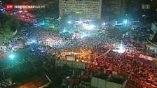 Video «Zehntausende für Mursi» abspielen