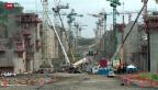 Video «Streit auf der Baustelle am Panamakanal» abspielen