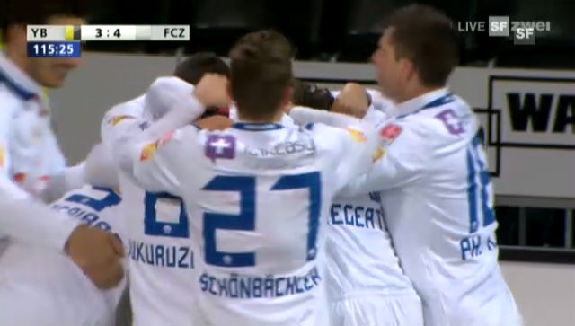 Cup: Viertelfinal YB - FCZ (Highlights)