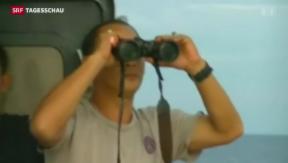 Video «Air-Asia-Maschine mit 160 Passagieren vermutlich abgestürzt» abspielen