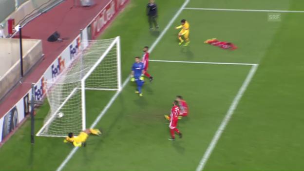 Video «APOEL schlägt Olympiakos und sichert sich den Gruppensieg» abspielen