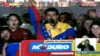 Video «Chávez-Ziehsohn Maduro gewinnt Präsidentschaftswahl» abspielen