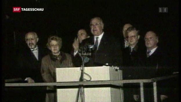 Video «Helmut Kohl gestorben» abspielen