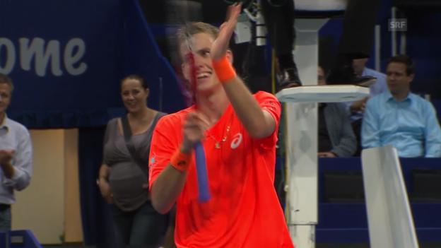 Video «Tennis: Matchball Pospisil - Dodig («sportlive»)» abspielen