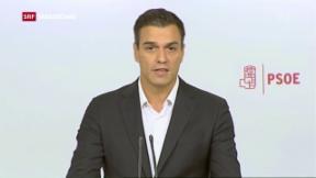Video «Rebellion gegen Parteichef Sánchez» abspielen