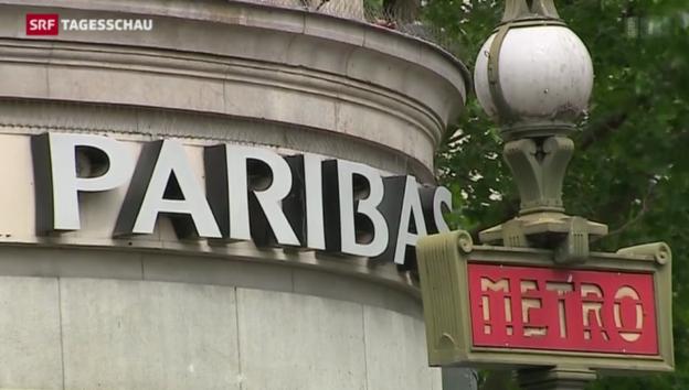 Video «Busse für BNP Paribas» abspielen