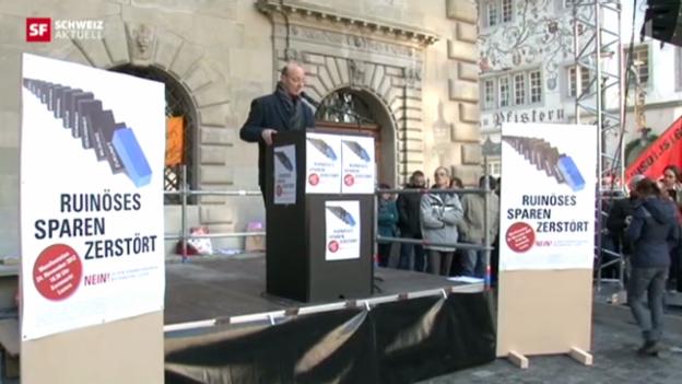 Video «Schweiz aktuell vom 13. Dezember 2012» abspielen