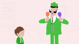 Video «Peek Zoo - D'Klapper-Sprach» abspielen