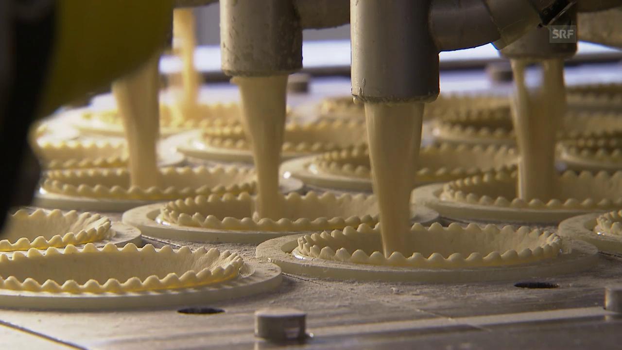 So werden Chäschüechli hergestellt