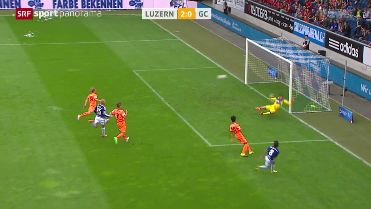 Fussball: Super League, Luzern - GC
