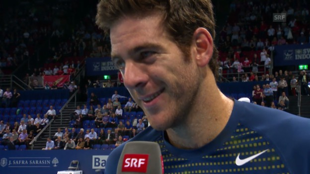 Video «Interview mit Juan Martin Del Potro» abspielen