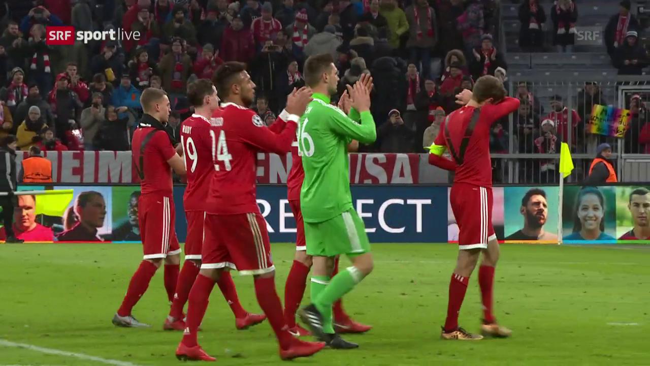 Bayern nimmt Revanche an PSG